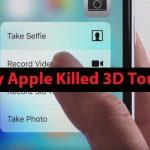 Latest iPhone တွေမှာ 3D Touch မပါလာရတယ့် အကြောင်းအရင်း